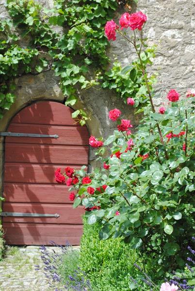 Burg Arnstein Außenanlage