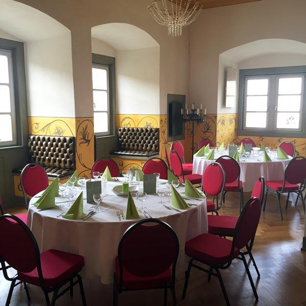 Burg Arnstein Festsaal