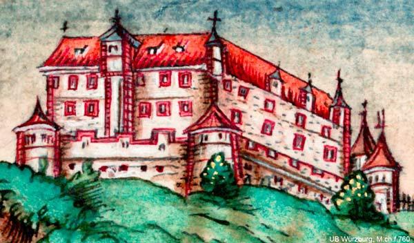 Burg Arnstein Frieschronik